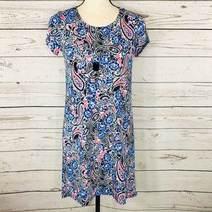 NY Collection Dress Sheath Floral Hi-Low Necklace